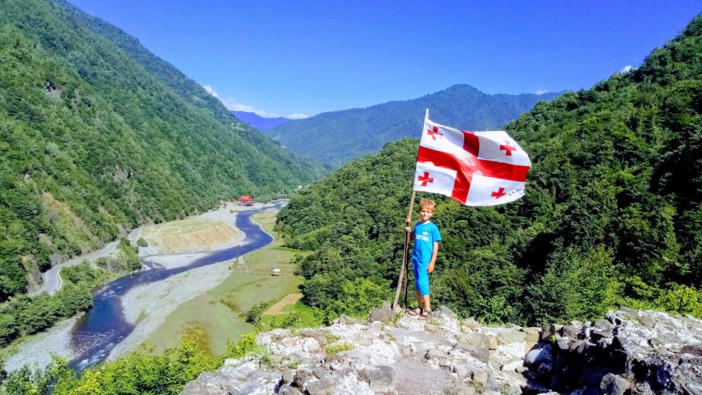 Легенда о возникновении Грузии