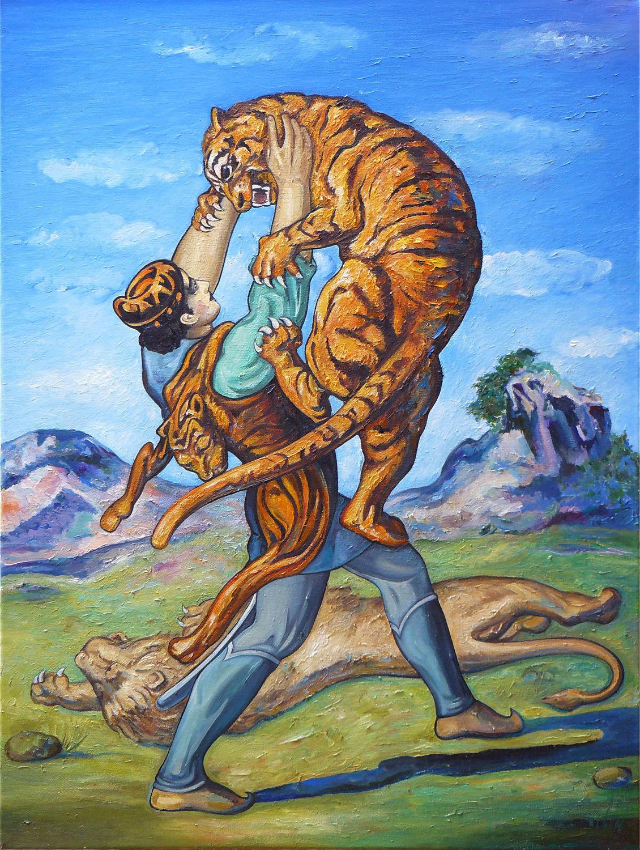 Витязь в тигровой шкуре. Краткое содержание